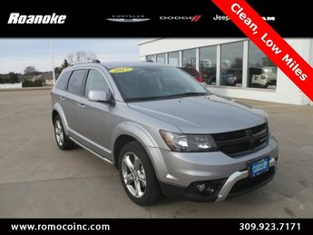 2017 Dodge Journey Crossroad 2.4L I4 DOHC 16V Dual VVT Engine SUV 4 Door Automatic FWD