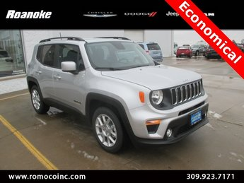 2019 Jeep Renegade Latitude 2.4L I4 Engine Automatic FWD 4 Door SUV