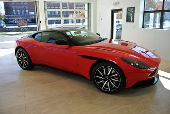 2020 Scorpus Red Aston Martin DB11 Automatic 4.0L V8 Engine
