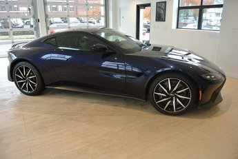2020 Mariana Blue Aston Martin Vantage Base Coupe RWD V8 Engine
