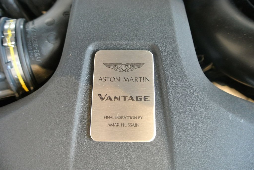 2020 Mariana Blue Aston Martin Vantage Base 2 Door RWD Automatic