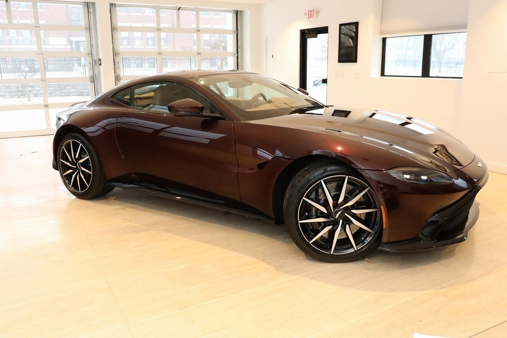 2020 Red Aston Martin Vantage Base V8 Engine 2 Door Automatic Coupe RWD