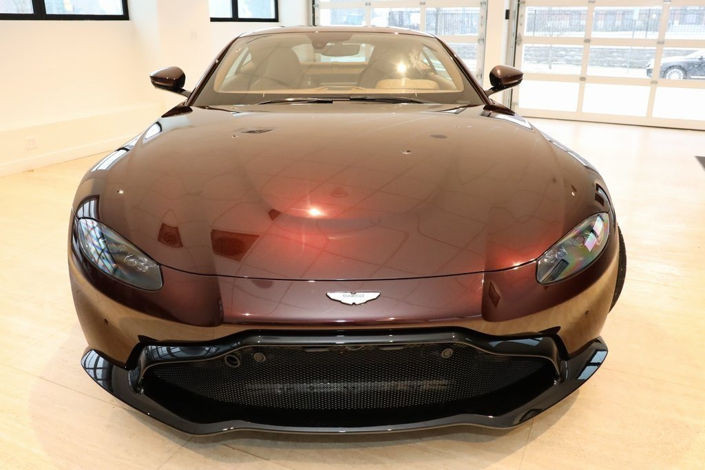 2020 Red Aston Martin Vantage Base Coupe Automatic RWD 2 Door V8 Engine