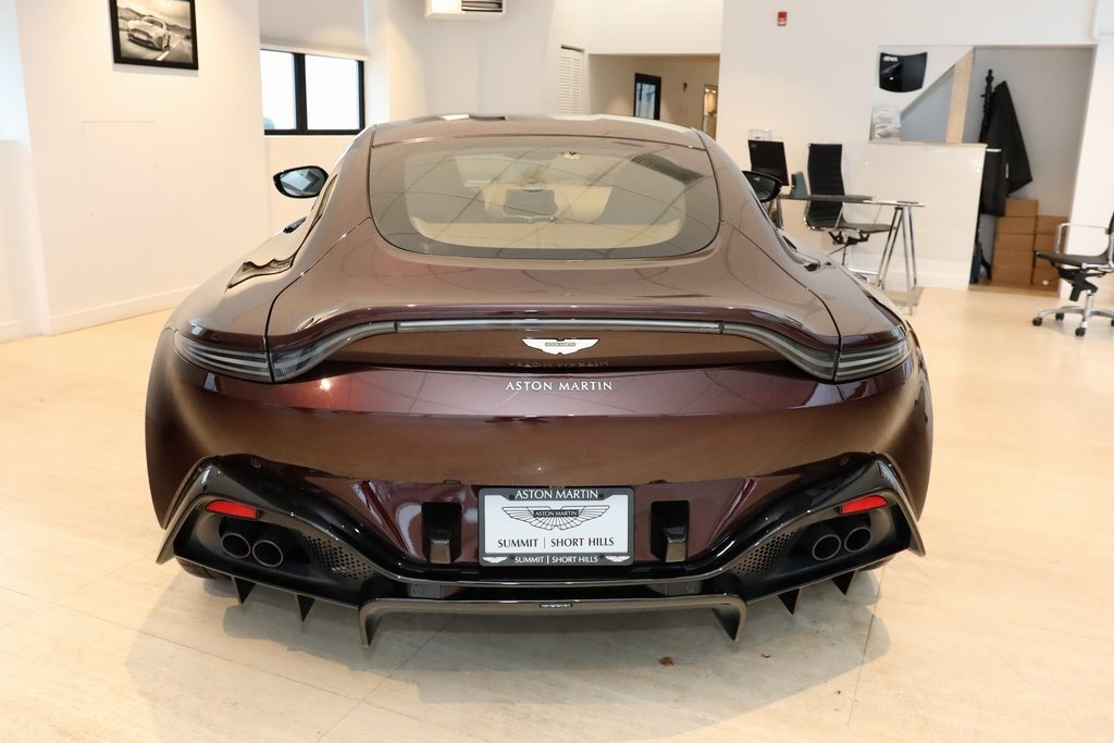 2020 Red Aston Martin Vantage Base V8 Engine RWD Coupe Automatic 2 Door