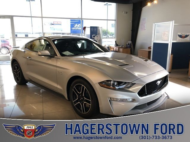 2019 Ingot Silver Metallic Ford Mustang GT RWD 2 Door Coupe 5.0L V8 Ti-VCT Engine Automatic