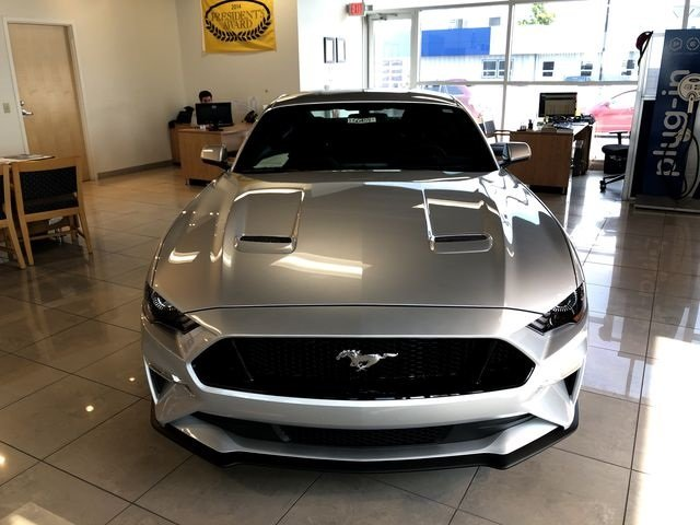 2019 Ingot Silver Metallic Ford Mustang GT RWD Coupe 5.0L V8 Ti-VCT Engine