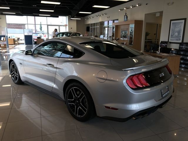 2019 Ingot Silver Metallic Ford Mustang GT 2 Door 5.0L V8 Ti-VCT Engine Automatic