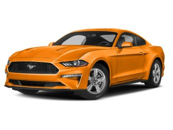 2019 Orange Fury Metallic Tri-Coat Ford Mustang GT 5.0L V8 Ti-VCT Engine Coupe 2 Door