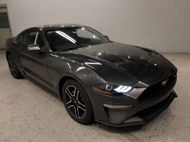 2019 Ford Mustang EcoBoost EcoBoost 2.3L I4 GTDi DOHC Turbocharged VCT Engine Coupe Automatic 2 Door