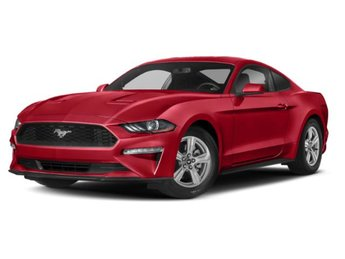 2019 Ford Mustang EcoBoost RWD EcoBoost 2.3L I4 GTDi DOHC Turbocharged VCT Engine Automatic 2 Door Coupe