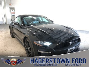 2018 Ford Mustang EcoBoost Premium RWD 2 Door Coupe EcoBoost 2.3L I4 GTDi DOHC Turbocharged VCT Engine Automatic
