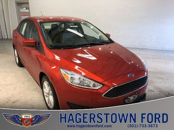 2018 Chili Pepper Red Ford Focus SE I4 Engine 4 Door FWD Automatic Sedan