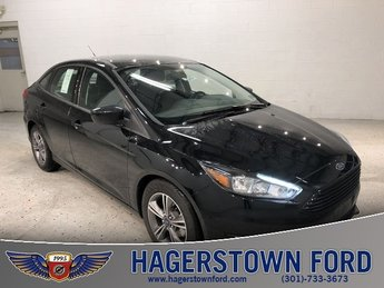 2018 Shadow Black Ford Focus SE Automatic 4 Door Sedan FWD I4 Engine