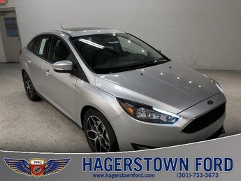 2018 Ingot Silver Metallic Ford Focus SEL Sedan I4 Engine 4 Door Automatic