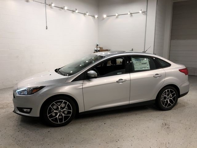 2018 Ingot Silver Metallic Ford Focus SEL Sedan I4 Engine 4 Door FWD