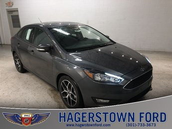 2018 Ford Focus SEL I4 Engine 4 Door FWD Automatic