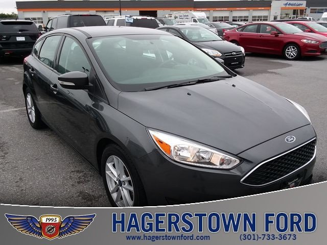 2017 Gray Ford Focus SE 2.0L 4-Cylinder DGI DOHC Engine 4 Door Automatic FWD