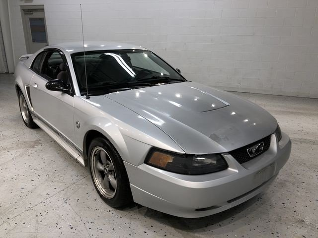 2004 Silver Metallic Ford Mustang V6 RWD Coupe 3.8L V6 EFI OHV Engine Manual 2 Door