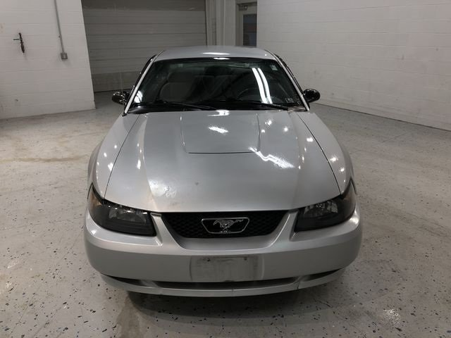 2004 Silver Metallic Ford Mustang V6 Manual 3.8L V6 EFI OHV Engine RWD Coupe 2 Door