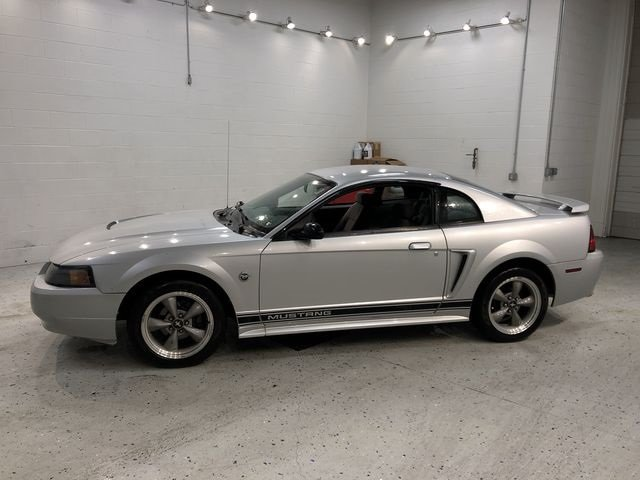 2004 Silver Metallic Ford Mustang V6 Manual Coupe RWD 2 Door 3.8L V6 EFI OHV Engine