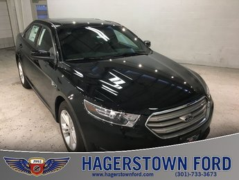 2018 Shadow Black Ford Taurus SEL 3.5L V6 Ti-VCT Engine Automatic FWD