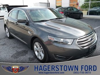 2016 Shadow Black Ford Taurus SEL Sedan 3.5L 6-Cylinder SMPI DOHC Engine FWD