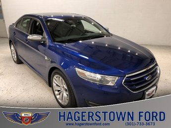 2013 Ford Taurus Limited Sedan FWD Automatic EcoBoost 2.0L I4 GTDi DOHC Turbocharged VCT Engine 4 Door
