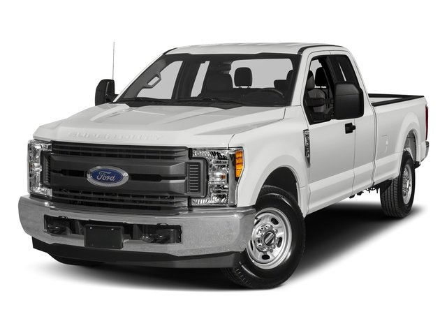 2018 Oxford White Ford Super Duty F-350 SRW XL 6.2L V8 Engine 4X4 Automatic