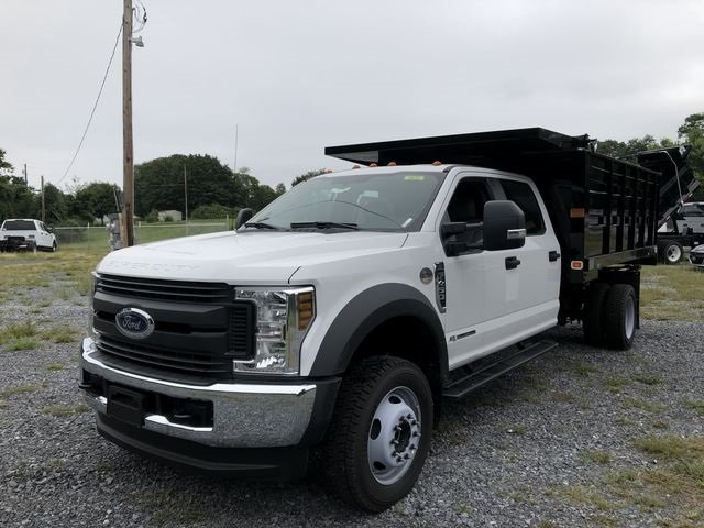 2018 Oxford White Ford Super Duty F-450 DRW Lariat 6.7L V8 Engine Automatic 4X4 4 Door