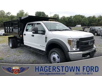 2018 Oxford White Ford Super Duty F-450 DRW Automatic 4X4 Truck 6.7L V8 Engine