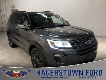 2018 Ford Explorer XLT SUV FWD 2.3L I4 Engine Automatic 4 Door