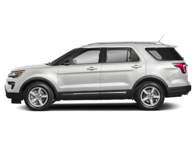 2019 Oxford White Ford Explorer Base 4 Door 4X4 3.5L V6 Ti-VCT Engine