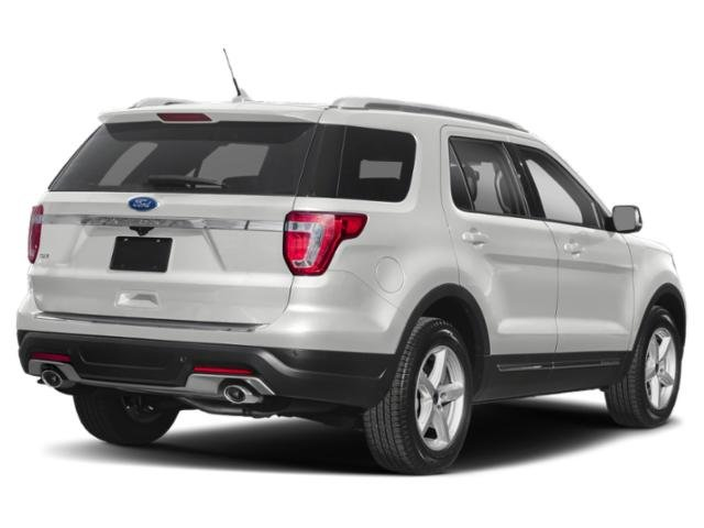 2019 Oxford White Ford Explorer XLT 3.5L V6 Ti-VCT Engine 4X4 4 Door