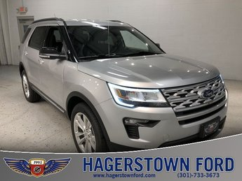 2018 Ford Explorer XLT 3.5L V6 Ti-VCT Engine 4 Door 4X4 Automatic SUV