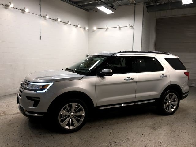 2018 Ford Explorer Limited Automatic 4 Door 3.5L V6 Ti-VCT Engine SUV