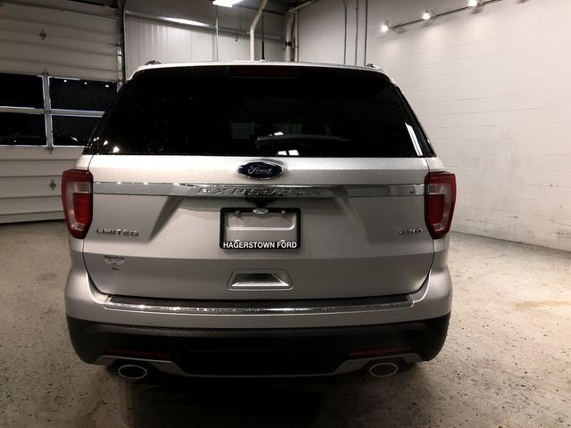 2018 Ford Explorer Limited 4X4 SUV 4 Door 3.5L V6 Ti-VCT Engine