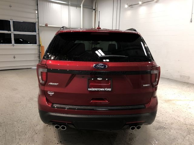 2018 Ford Explorer Sport SUV 3.5L Engine Automatic 4X4 4 Door
