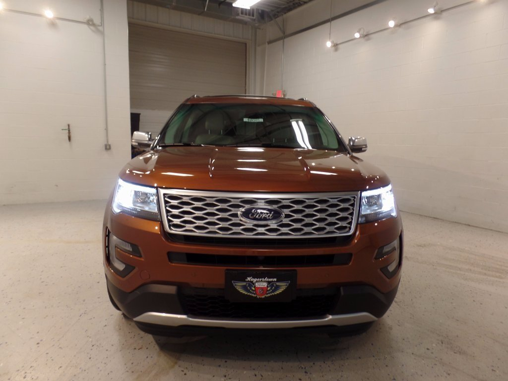 2017 Canyon Ridge Metallic Ford Explorer Platinum SUV EcoBoost 3.5L V6 GTDi DOHC 24V Twin Turbocharged Engine 4X4 4 Door Automatic