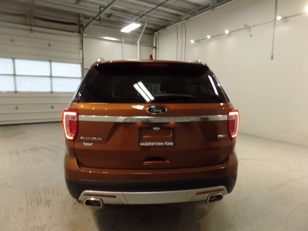 2017 Canyon Ridge Metallic Ford Explorer Platinum EcoBoost 3.5L V6 GTDi DOHC 24V Twin Turbocharged Engine Automatic 4 Door