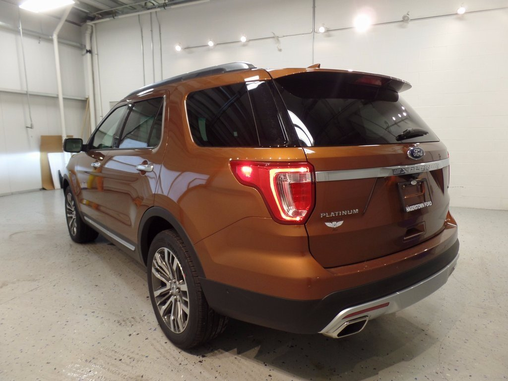2017 Canyon Ridge Metallic Ford Explorer Platinum 4X4 4 Door Automatic SUV EcoBoost 3.5L V6 GTDi DOHC 24V Twin Turbocharged Engine