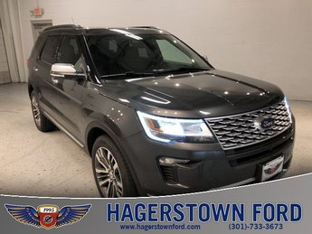 2018 Magnetic Metallic Ford Explorer Platinum 4X4 4 Door Automatic