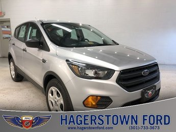 2018 Ford Escape S 4 Door Automatic 2.5L iVCT Engine FWD
