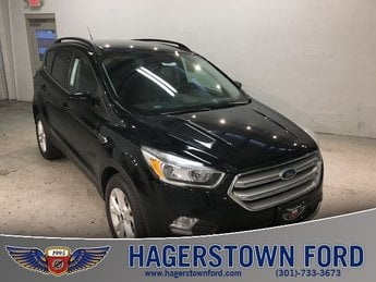 2018 Shadow Black Ford Escape SE EcoBoost 1.5L I4 GTDi DOHC Turbocharged VCT Engine 4 Door Automatic FWD