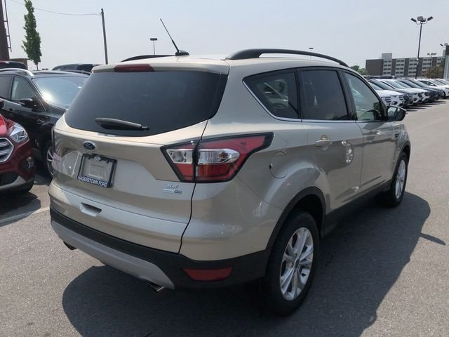 2018 Ford Escape SE EcoBoost 1.5L I4 GTDi DOHC Turbocharged VCT Engine SUV Automatic 4X4