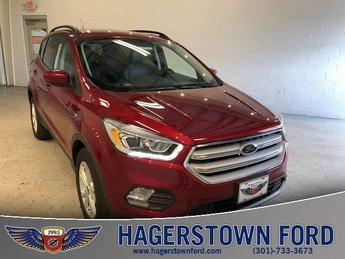 2018 Ruby Red Metallic Tinted Clearcoat Ford Escape SEL Automatic 4 Door SUV 4X4 EcoBoost 1.5L I4 GTDi DOHC Turbocharged VCT Engine