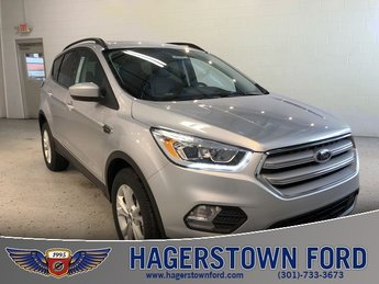 2018 Ford Escape SEL 4X4 Automatic 4 Door EcoBoost 1.5L I4 GTDi DOHC Turbocharged VCT Engine