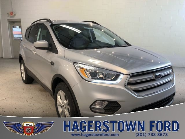 2018 Ingot Silver Metallic Ford Escape SEL SUV 4X4 Automatic EcoBoost 1.5L I4 GTDi DOHC Turbocharged VCT Engine 4 Door