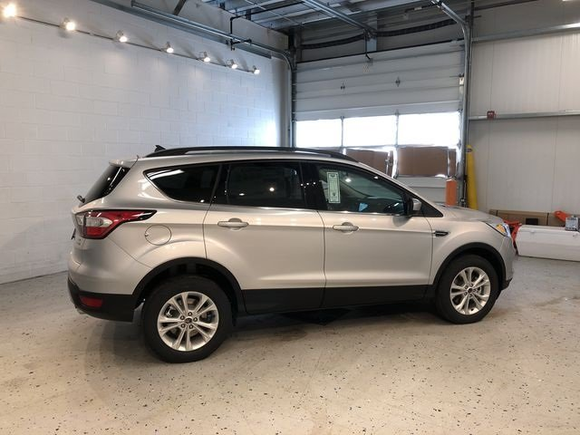 2018 Ingot Silver Metallic Ford Escape SEL 4 Door EcoBoost 1.5L I4 GTDi DOHC Turbocharged VCT Engine 4X4 Automatic SUV