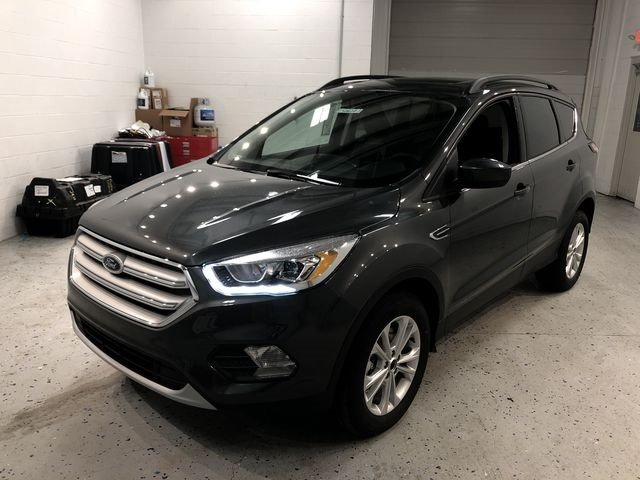 2018 Magnetic Metallic Ford Escape SEL EcoBoost 1.5L I4 GTDi DOHC Turbocharged VCT Engine SUV 4X4 4 Door Automatic
