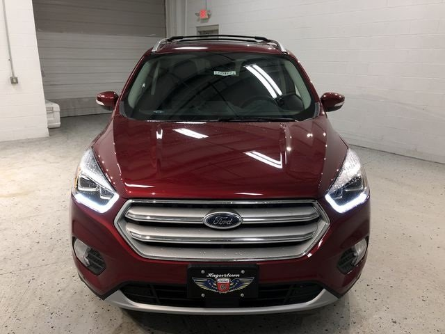 2018 Ford Escape Titanium Automatic 4 Door EcoBoost 2.0L I4 GTDi DOHC Turbocharged VCT Engine SUV